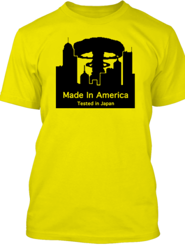 Made In America Yellow Tee