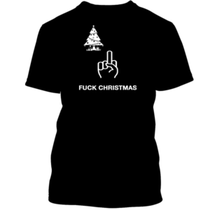 Fuck Christmas Black Tee