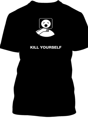 Kill Yourself LOL JK Black Tee